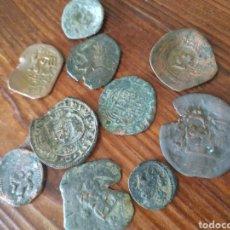 Monedas medievales: 9 MONEDAS MEDIEVALES A LIMPIAR Y DATAR,L1. Lote 210101687