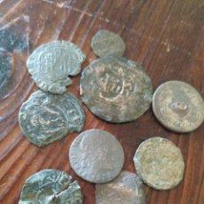 Monedas medievales: 9 MONEDAS MEDIEVALES A LIMPIAR Y DATAR,L2. Lote 210101818
