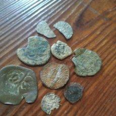 Monedas medievales: L4, LOTE DE MONEDAS MEDIEVALES A LIMPIAR Y DATAR,3 PLATA. Lote 210102417