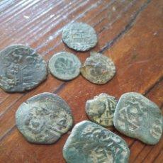 Monedas medievales: L5, LOTE DE MEDIEVALES A LIMPIAR Y DATAR. Lote 210102490