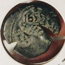 Monedas medievales: RESELLO DE LOS AUSTRIA TRIPLE RESELLADO. Lote 210148432