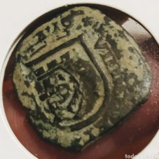 Monedas medievales: DOBLE RESELLO DE 1621 FELIPE IIII. Lote 210149655