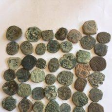 Monedas medievales: LOTE DE MONEDAS MEDIEVALES RESELLOS. Lote 210287061