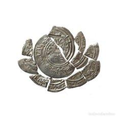 Monedas medievales: CONJUNTO DE FRAGMENTOS DE DIRHAM DEL PERIODO OMEYA, (6,60 G).A59-LM. Lote 211453822