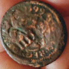 Monedas medievales: PRECIOSA MONEDA DE FELIPE III DE 1599 RESELLADA. Lote 211529176