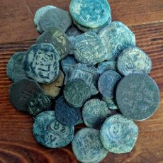 Monete medievali: LOTE DE 32 MONEDAS MEDIEVALES MUY BUEN ESTADO. Lote 213099627