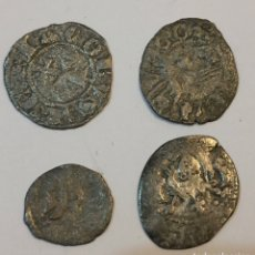 Monete medievali: MONEDAS MEDIEVALES PLATA. Lote 213514006