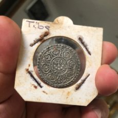 Monedas medievales: MONEDA TÍBET. TANGKA 1875. PLATA . EXCELENTE ESTADO. VER FOTOS. Lote 218220387