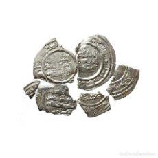 Monedas medievales: CONJUNTO DE FRAGMENTOS DE DIRHAM DEL PERIODO OMEYA, (6,60 G).A58-LM. Lote 218446358