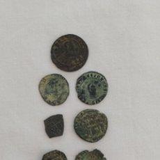 Monedas medievales: LOTE DE MONEDAS ANTIGUAS. Lote 221099373
