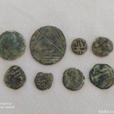 Monedas medievales: LOTE DE MONEDAS ANTIGUAS. Lote 221102148