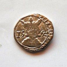 Monedas medievales: FELIPE II . 2 REALES 1592 . REPLICA. Lote 222678077