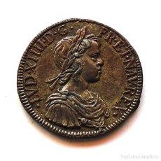 Monedas medievales: FRANCIA . LUIS XIII . 10 LOUIS 1640 . COLECCION TESOROS DE LOS REYES DE FRANCIA.. Lote 222678790
