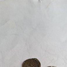 Monnaies médiévales: LOTE CUATRO MONEDAS UNA ARABE DOS MEDIEVALES Y UNA ROMANA. Lote 231007030