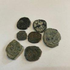 Monedas medievales: LOTE MONEDAS MEDIEVALES. Lote 243194930