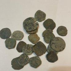 Monedas medievales: LOTE MONEDAS MEDIEVALES. Lote 243251465