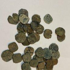 Monedas medievales: LOTE DE MONEDAS MEDIEVALES 42 MONEDAS. Lote 243274455