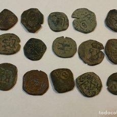 Monedas medievales: LOTE MONEDAS MEDIEVALES. Lote 244950180