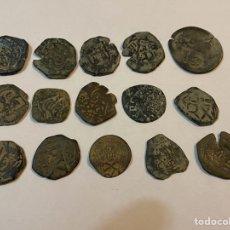 Monedas medievales: LOTE MONEDAS MEDIEVALES. Lote 244950945