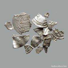 Monedas medievales: CONJUNTO DE FRAGMENTOS DE DIRHAM, PERIODO OMEYA, (6,60 G). B21-L. Lote 245602655