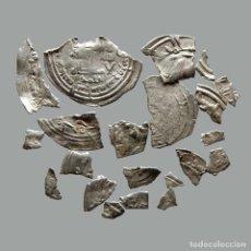 Monedas medievales: CONJUNTO DE FRAGMENTOS DE DIRHAM, PERIODO OMEYA, (6,60 G). B15-L. Lote 245602725