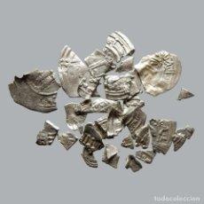 Monedas medievales: CONJUNTO DE FRAGMENTOS DE DIRHAM, PERIODO OMEYA, (6,60 G). B26-L. Lote 245602750