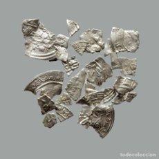 Monedas medievales: CONJUNTO DE FRAGMENTOS DE DIRHAM, PERIODO OMEYA, (6,60 G). B23-L. Lote 245602780