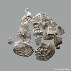 Monedas medievales: CONJUNTO DE FRAGMENTOS DE DIRHAM DEL PERIODO OMEYA, (6,60 G). B24-L. Lote 245602830
