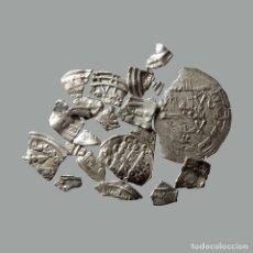 Monedas medievales: CONJUNTO DE FRAGMENTOS DE DIRHAM, PERIODO OMEYA, (6,60 G). B25-L. Lote 245602850