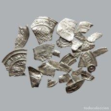 Monedas medievales: CONJUNTO DE FRAGMENTOS DE DIRHAM, PERIODO OMEYA, (6,60 G). B29-L. Lote 245602870