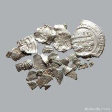 Monedas medievales: CONJUNTO DE FRAGMENTOS DE DIRHAM, PERIODO OMEYA, (6,60 G). B27-L. Lote 245602890