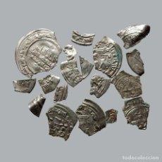Monedas medievales: CONJUNTO DE FRAGMENTOS DE DIRHAM, PERIODO OMEYA, (10 G). B46-L. Lote 245604025