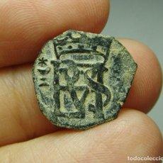 Moedas medievais: BLANCA. FELIPE II (1556 - 1580). CUENCA.. Lote 253162475