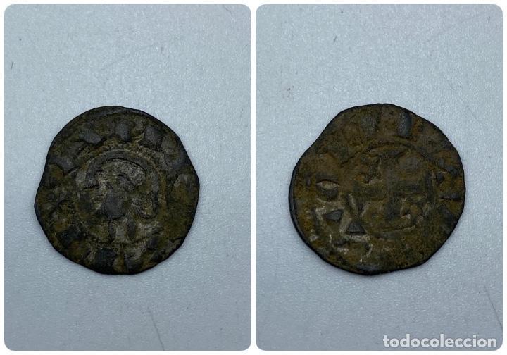 MONEDA. ALFONSO X. DINERO PEPION. TIPO BIENPEINADO. 1252-1256. VER (Numismática - Hispania Antigua- Medievales - Otros)