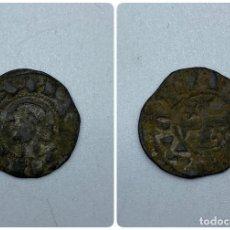 Monedas medievales: MONEDA. ALFONSO X. DINERO PEPION. TIPO BIENPEINADO. 1252-1256. VER. Lote 253618875