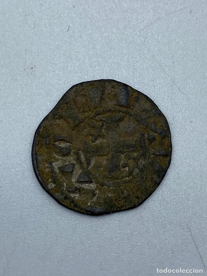 Monedas medievales: MONEDA. ALFONSO X. DINERO PEPION. TIPO BIENPEINADO. 1252-1256. VER - Foto 2 - 253618875