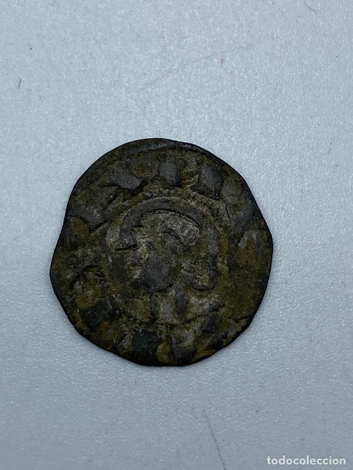 Monedas medievales: MONEDA. ALFONSO X. DINERO PEPION. TIPO BIENPEINADO. 1252-1256. VER - Foto 3 - 253618875