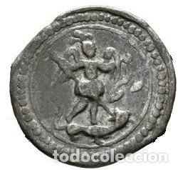 Monedas medievales: 1739. Llucmajor. Plom. (Cru.L. 2408). Plomo eclesiástico mallorquin. Escaso. EBC - Foto 2 - 253772295