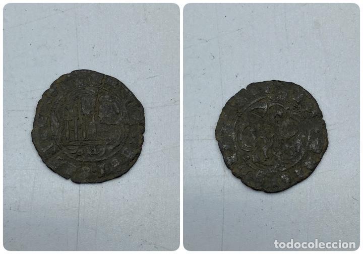 MONEDA. ENRIQUE III. BLANCA. BURGOS. VER FOTOS (Numismática - Hispania Antigua- Medievales - Otros)