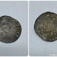 Monedas medievales: MONEDA. ENRIQUE II. MEDIO REAL DE VELLÓN. SEVILLA. VER. Lote 254723240