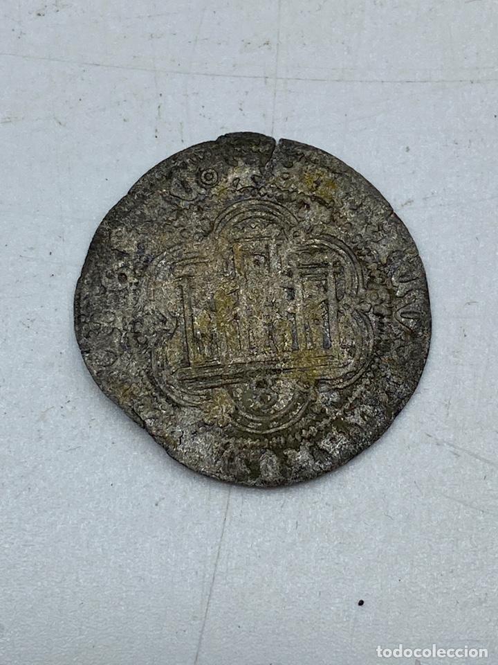 Monedas medievales: MONEDA. ENRIQUE II. MEDIO REAL DE VELLÓN. SEVILLA. VER - Foto 2 - 254723240