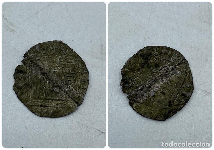 MONEDA. ALFONSO XI. DINERO NOVEN. VER FOTOS (Numismática - Hispania Antigua- Medievales - Otros)