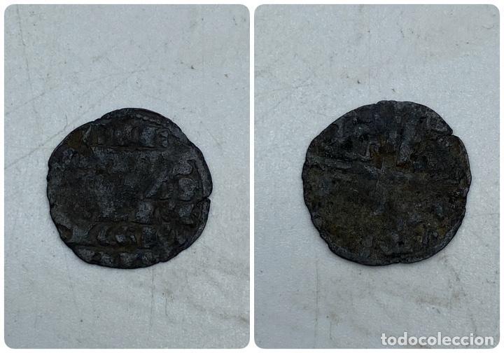 MONEDA. ALFONSO X. DINERO DE 6 LINEAS. VER (Numismática - Hispania Antigua- Medievales - Otros)