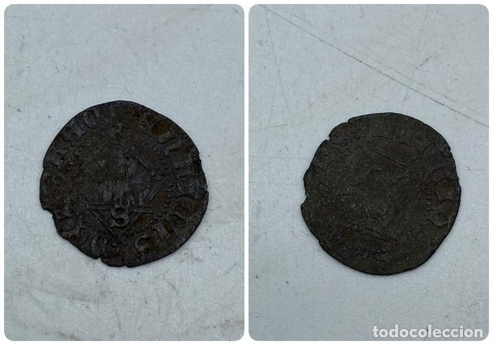 MONEDA. ENRIQUE IV. SEVILLA. BLANCA DEL ROMBO. VER (Numismática - Hispania Antigua- Medievales - Otros)