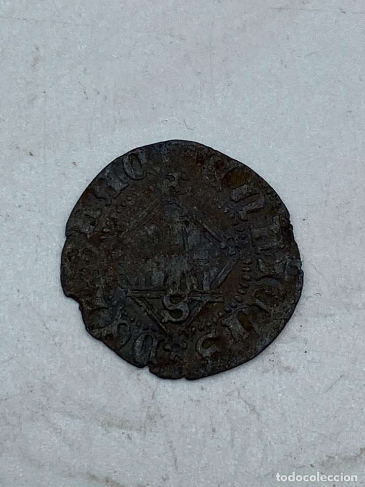 Monedas medievales: MONEDA. ENRIQUE IV. SEVILLA. BLANCA DEL ROMBO. VER - Foto 2 - 255973250
