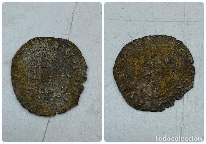 MONEDA. ENRIQUE III. BLANCA. VER (Numismática - Hispania Antigua- Medievales - Otros)
