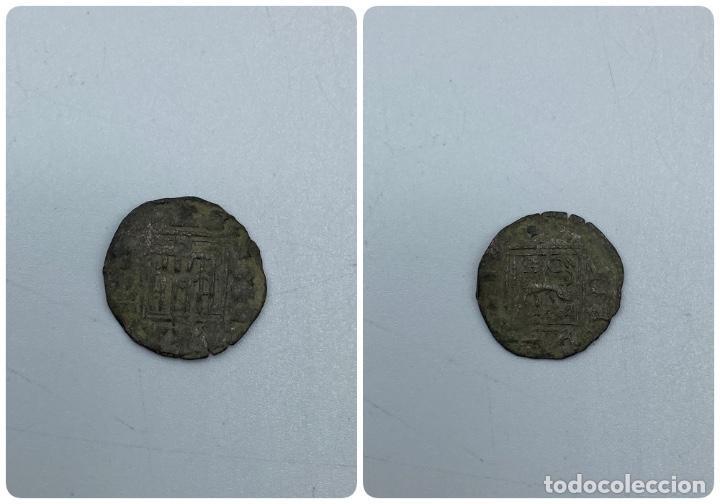MONEDA. ALFONSO XI. NOVEN. SEVILLA. VER FOTOS (Numismática - Hispania Antigua- Medievales - Otros)