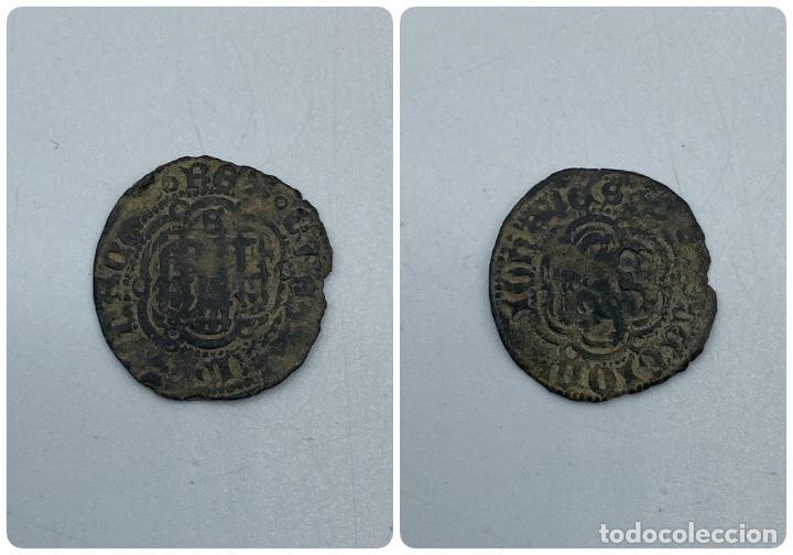 MONEDA. JUAN II. BLANCA. SEVILLA. VER FOTOS. (Numismática - Hispania Antigua- Medievales - Otros)