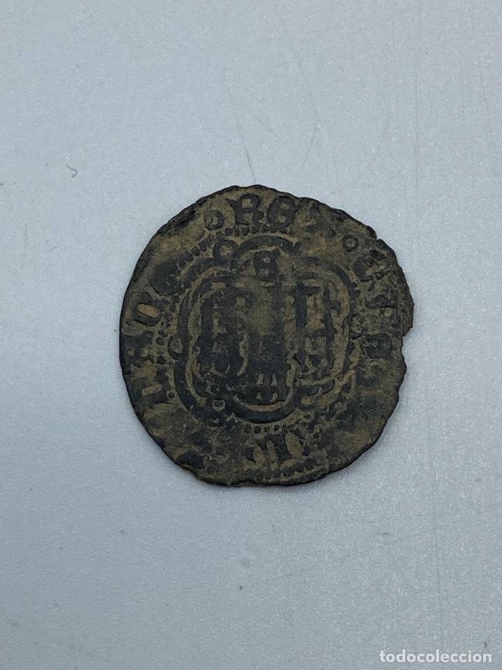 Monedas medievales: MONEDA. JUAN II. BLANCA. SEVILLA. VER FOTOS. - Foto 2 - 258316155