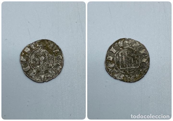 MONEDA. ALFONSO X. DINERO PEPION. (Numismática - Hispania Antigua- Medievales - Otros)